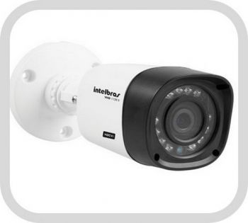Câmera IP Bullet Vip 1120 B Infra 20mts Mini 3.6mm HD - Intelbras