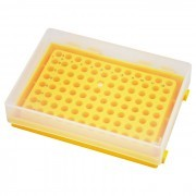 Estante para Microplaca de PCR ou 96 Microtubos de 0,2 ml  Cod. 375