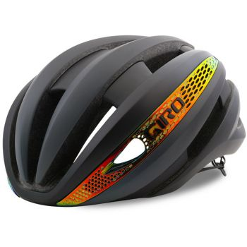 Capacete Giro Synthe MIPS Cinza/ Firechrome M (55-59cm)