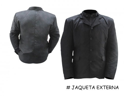 jaqueta moto texx Executive Bond externa