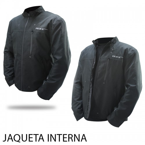 jaqueta moto texx Executive Bond interna