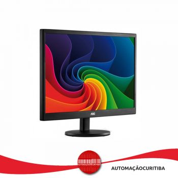 Monitor  AOC LCD Led  15.6'' E1670SWU Widescreen USB, Interface video RGB HD