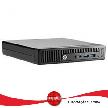 Computador HP Mini PC 260 Intel i3-4030U 4GB HD 500GB Win 8.1 Pro