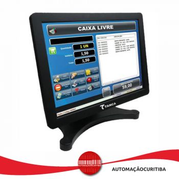 Monitor Touch Screen 15'' LCD Tanca TMT-520