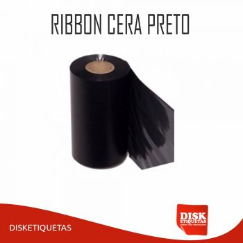 Ribbon Cera Preto G42 110mm x 450m