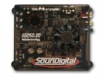 Soundigital SD250.2D - Módulo Digital, até 2x125W RMS, 2 ohms