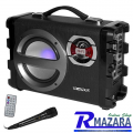 Caixa de Som Karaokê Sate AS-382 BT / Fm / SD / USB / MIC