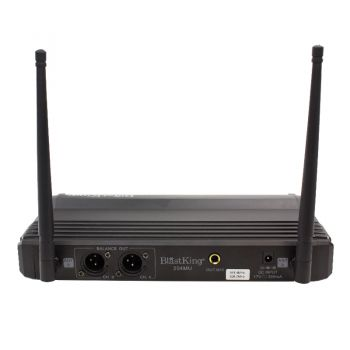 Blastking Dual Channel Wireless Microphone System – 204MU  - foto 3