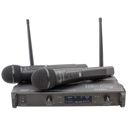 Blastking Dual Channel Wireless Microphone System – 204MU  - foto principal 1
