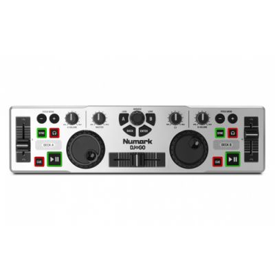 Controladora Numark DJ2GO Com Software Virtual DJ