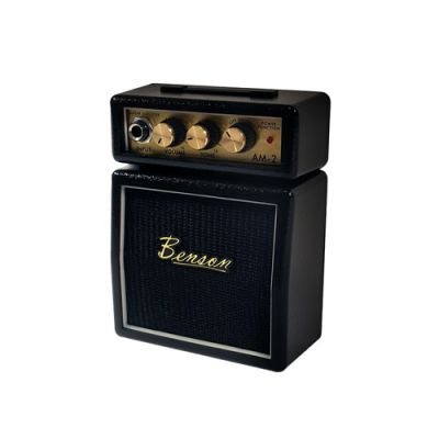 Mini Amplificador Para Guitarra AM-2B Preto - Benson