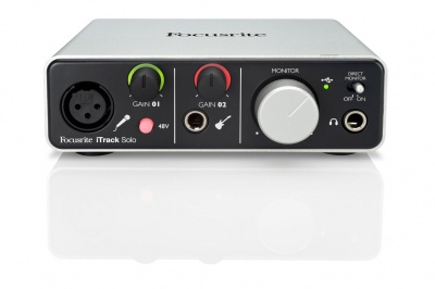 Interface De Áudio iTrack Solo - Focusrite  - foto principal 1