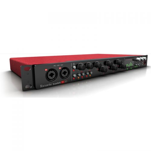 Interface De Audio USB Focusrite Scarlett 18I20 18 entradas e 20 Saídas