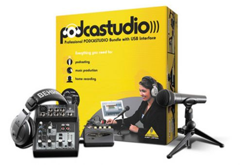 Kit Studio Podcastudio Usb - Behringer