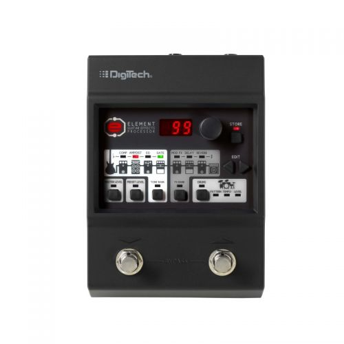 Pedaleira Para Guitarra Element - Digitech