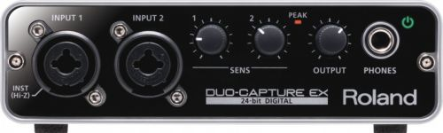 Interface De Áudio Duo-Capture EX USB/Midi UA22 - Roland