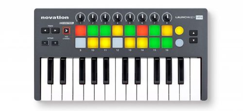 Teclado Controlador Launchkey Mini 25 - Novation