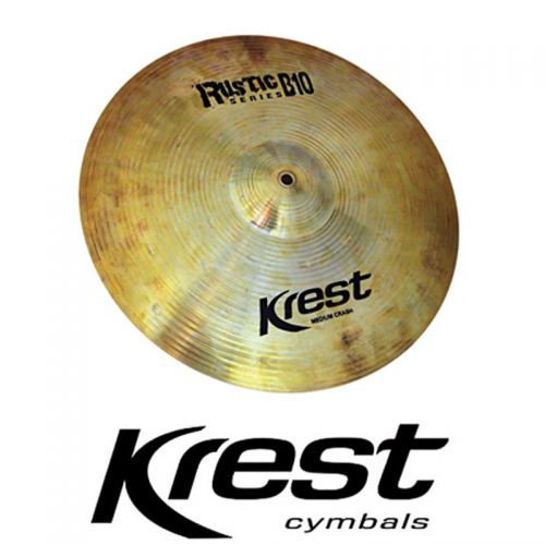 Prato de Ataque Krest Medium Crash 19 Rustic B10 Bronze B10