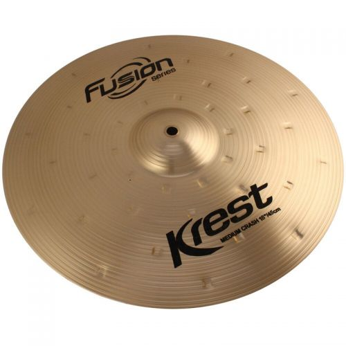 Prato de Ataque Medium Crash 18'' Fusion Series Bronze B8 - Krest