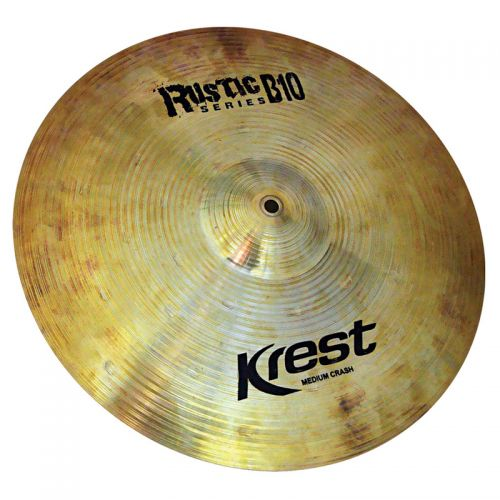 Prato de Ataque Krest Medium Crash 20 Rustic B10 Bronze B10