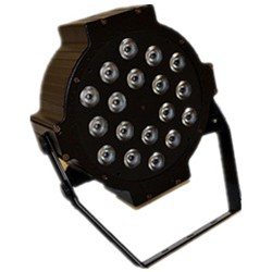 Par Led Slim 18 Leds 12W 5 Cores Bivolt - MD