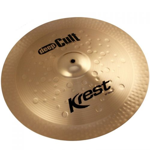 Prato de Efeito China 16'' Deep Cult Bronze B8 - Krest
