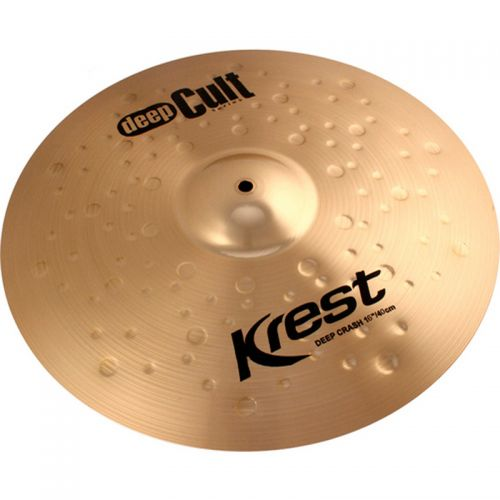 Prato de Ataque Deep Crash 16'' Deep Cult Bronze B8 - Krest