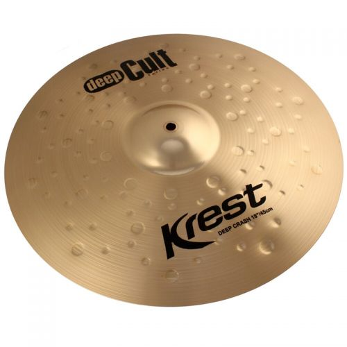 Prato de Ataque Krest Deep Crash 18 Deep Cult Bronze B8