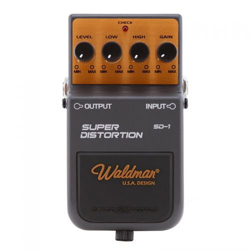 Pedal Distorção para Guitarra Super Distortion SD-1 Waldman