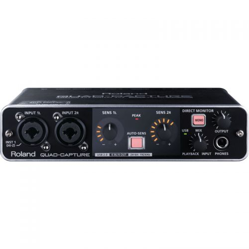 Interface de Áudio  Roland Quad-Capture UA-55 USB