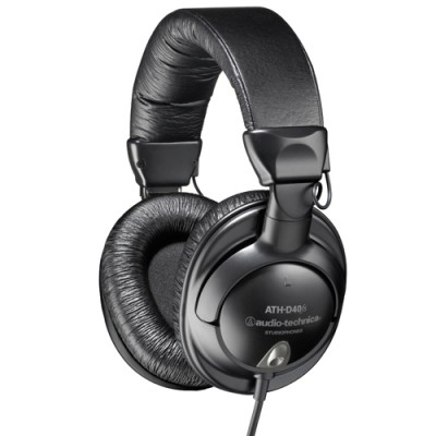 Headphone ATH-D40 Preto - Audio Technica