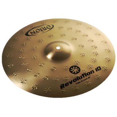 Prato Thin Crash 16 Orion Revolution 10 RX16TC Ataque Bronze B10