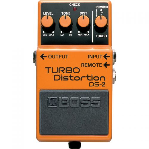 Pedal Boss DS-2 Turbo Distortion Distorção para Guitarra