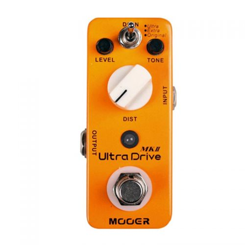 Pedal para Guitarra Mooer Ultra Drive Distortion Overdrive MKII