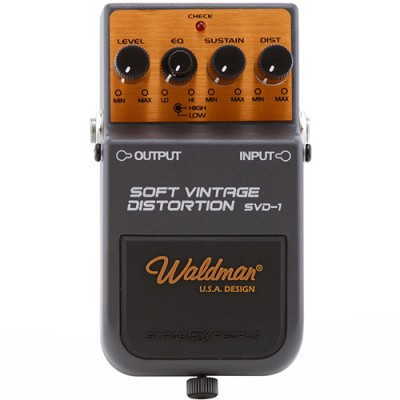 Pedal Para Guitarra Vintage Distortion SVD-1 - Waldman