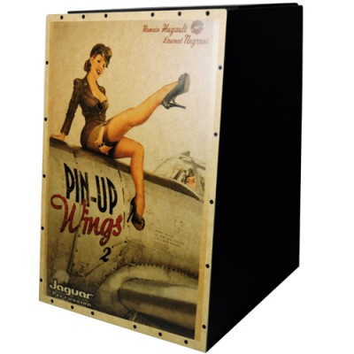 Cajon Acústico Pin Up Wings CJ1000 - Jaguar Persussion