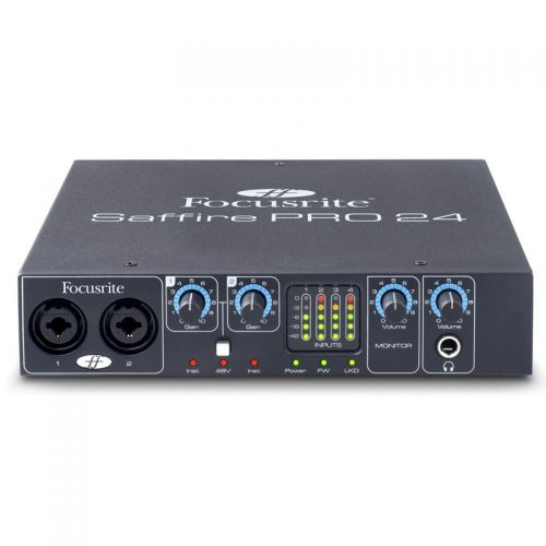 Interface de Áudio Focusrite Firewire Saffire Pro 24 Thunderbolt