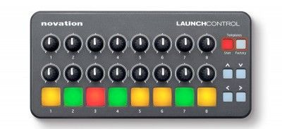 Controlador Novation Midi Launch Control Pads para DJ