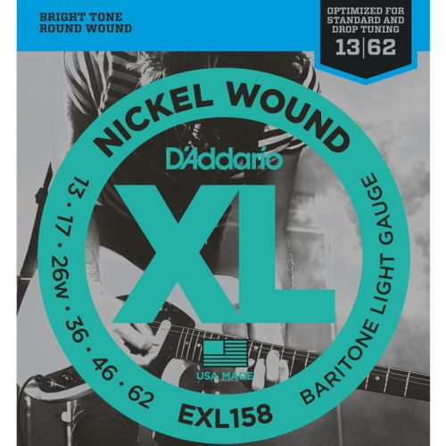 Encordoamento para Guitarra D'Addario 013 EXL158 Nickel Wound