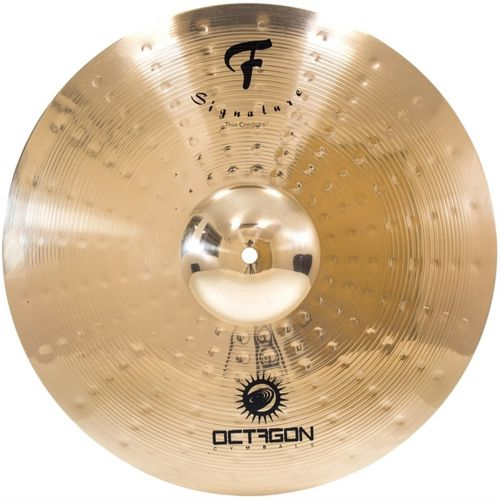 Prato Ataque Thin Crash 16 Octagon F Signature FS16TC Bronze B8