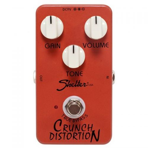 Pedal Shelter Crunch Distortion SCD Distorção para Guitarra
