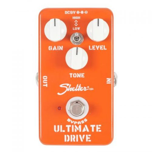 Pedal Shelter Ultimate Drive SUD para Guitarra