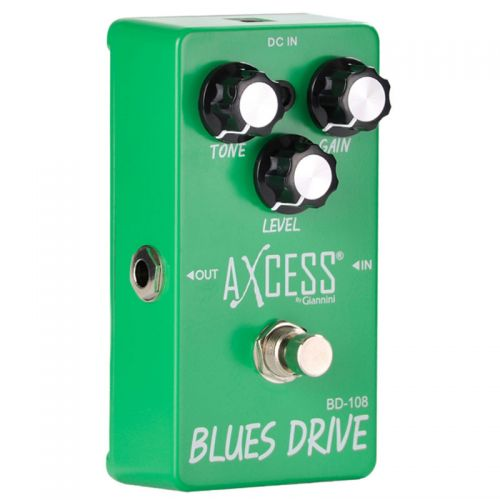 Pedal Overdrive Giannini Blues Drive BD-108 True Bypass Axcess
