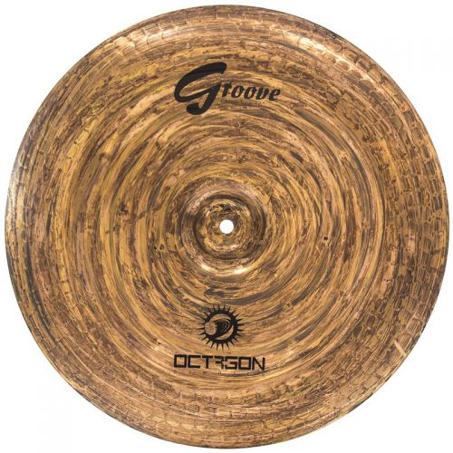 Prato China 16'' Octagon Série Groove GR16CH