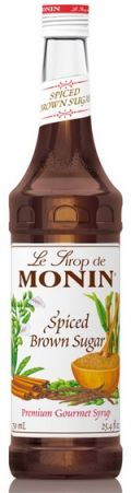AROMATIZANTE PARA DRINKS MASCAVO (SPICED BROWN SUGAR) MONIN
