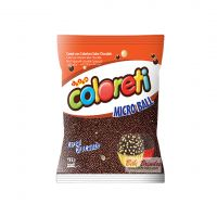 Coloreti Ball Cereal Crocante Chocolate Preto - Pct c/ 500 g
