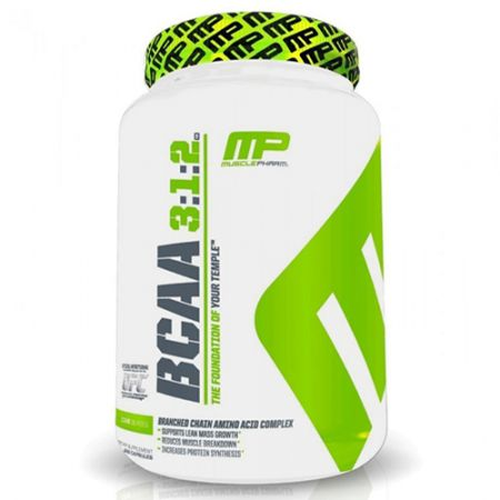 BCAA Core 3:1:2 - 240 Cápsulas - Muscle Pharm