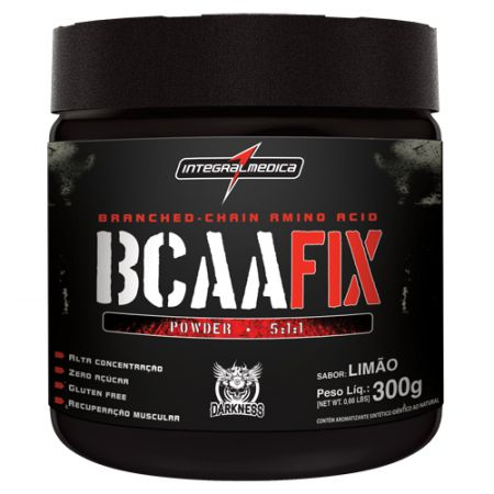 BCAA Fix Powder 5:1:1 Darkness - 300g - IntegralMedica