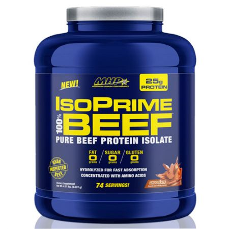 IsoPrime 100% Beef Protein Isolate - 2072g - MHP