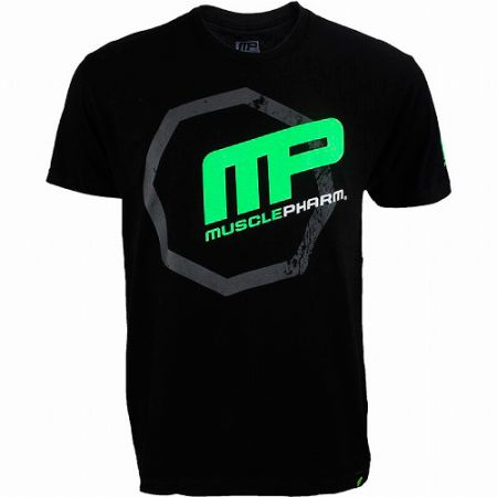 Camiseta Octogon Tee - Preta - Muscle Pharm
